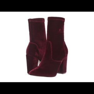 Ivanka Trump Velvet Booties